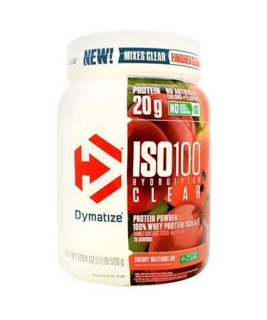 Dymatize ISO100 Hydrolyzed Clear-Protein - Whey Protein Isolate-DYMATIZE-20 Serves-Cherry Watermelon-Thrive Health and Nutrition