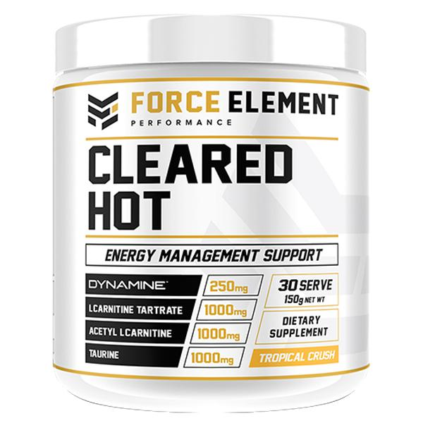 Force Element Cleared Hot-Weight Loss - Fat Burners-Force Element Performance-30 SERVE-Tropical Crush-Thrive Health and Nutrition