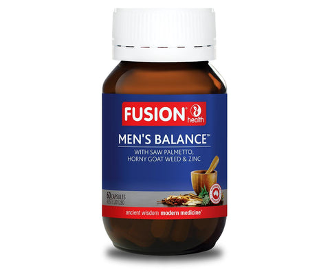 Fusion Mens Balance-Vitamin and Minerals - Mens Health-FUSION-30C-Thrive Health and Nutrition