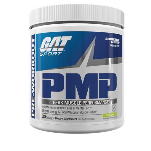 GAT PMP-Sports Nutrition - Pre Workout-GAT Sport-30 Serves-GREEN APPLE-Thrive Health and Nutrition