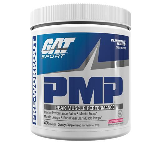 GAT PMP-Sports Nutrition - Pre Workout-GAT Sport-30 Serves-RASPBERRY LEMONADE-Thrive Health and Nutrition