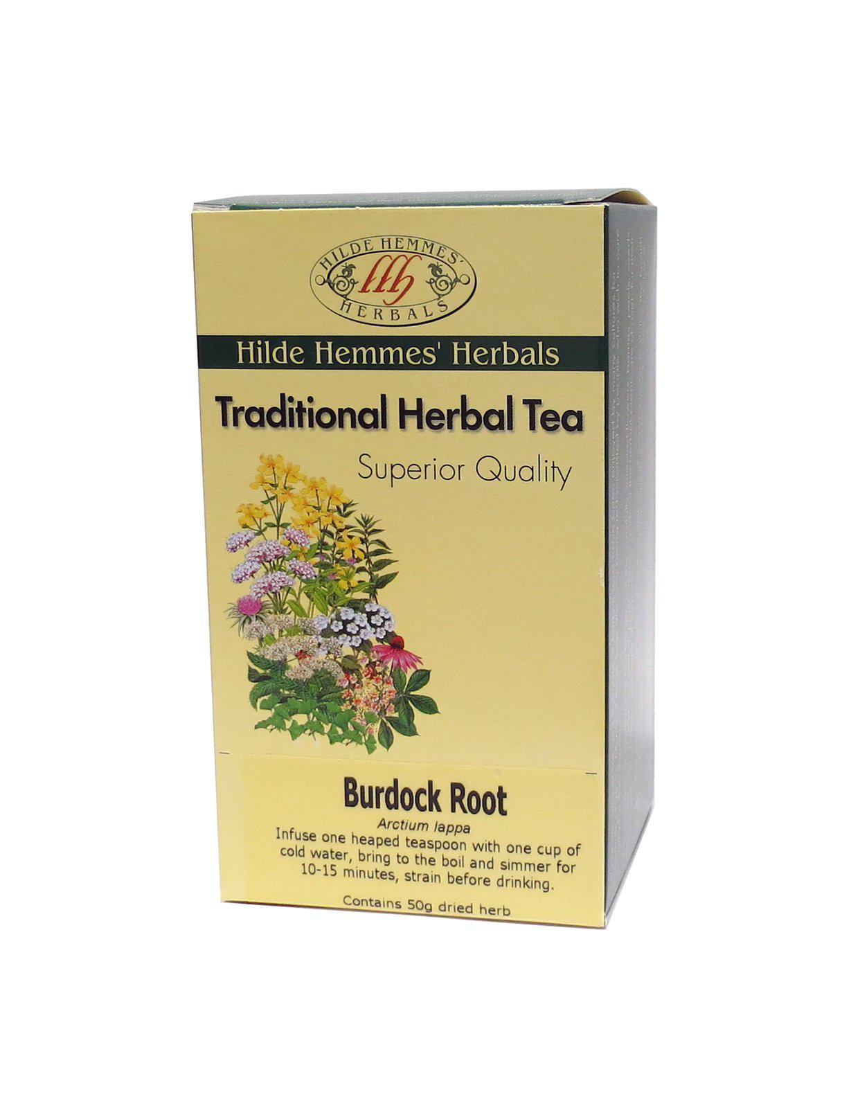 Hilde Hemmes Loose Tea Burdock Root-Health Foods - Teas-HILDE-50GM-BURDOCK ROOT-Thrive Health and Nutrition