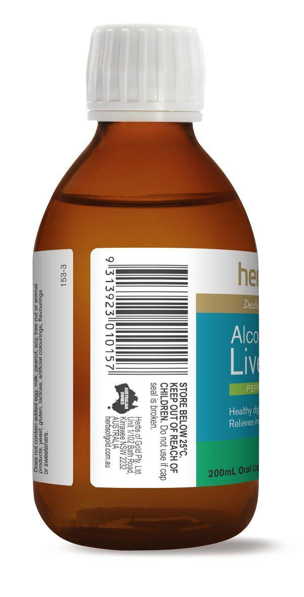 HofG Alcohol Free Liver Tonic-Vitamin and Minerals - Detox-Herbs of Gold-200ML-Thrive Health and Nutrition