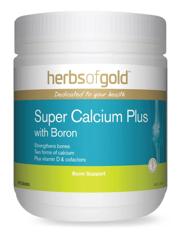 HofG Super Calcium Plus With Boron-Vitamin and Minerals - Joint And Bone Health-Herbs of Gold-180T-Thrive Health and Nutrition