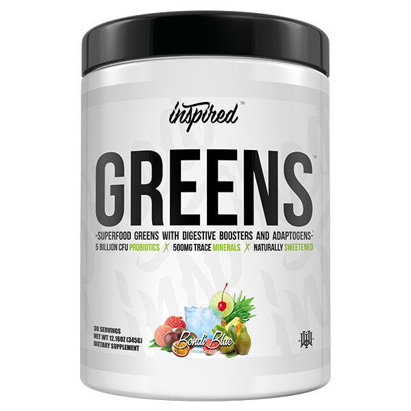 Inspired Greens-Health Foods - Greens-Inspired-30 Serves-Bondi Blue-Thrive Health and Nutrition