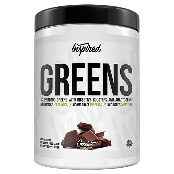 Inspired Greens-Health Foods - Greens-Inspired-30 Serves-CHOCOLATE-Thrive Health and Nutrition