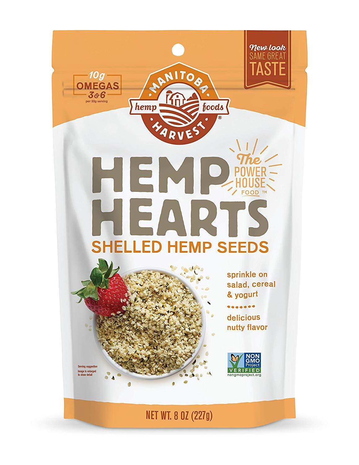 Manitoba Harvest Hemp Hearts-Health Foods - Pantry-MANITOBA HARVEST-225GM-Thrive Health and Nutrition