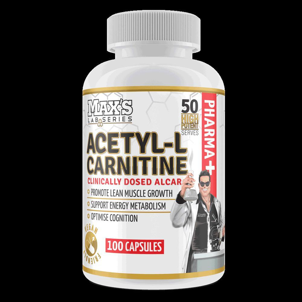Maxs Acetyl L Carnitine-Weight Loss - Carnitines-MAX-100C-Thrive Health and Nutrition
