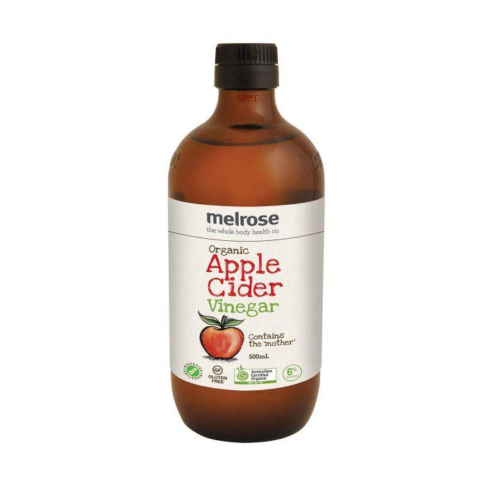 Melrose Apple Cider Vinegar Organic-Health Foods - Sauces And Seasoning-MELROSE-500ML-Thrive Health and Nutrition