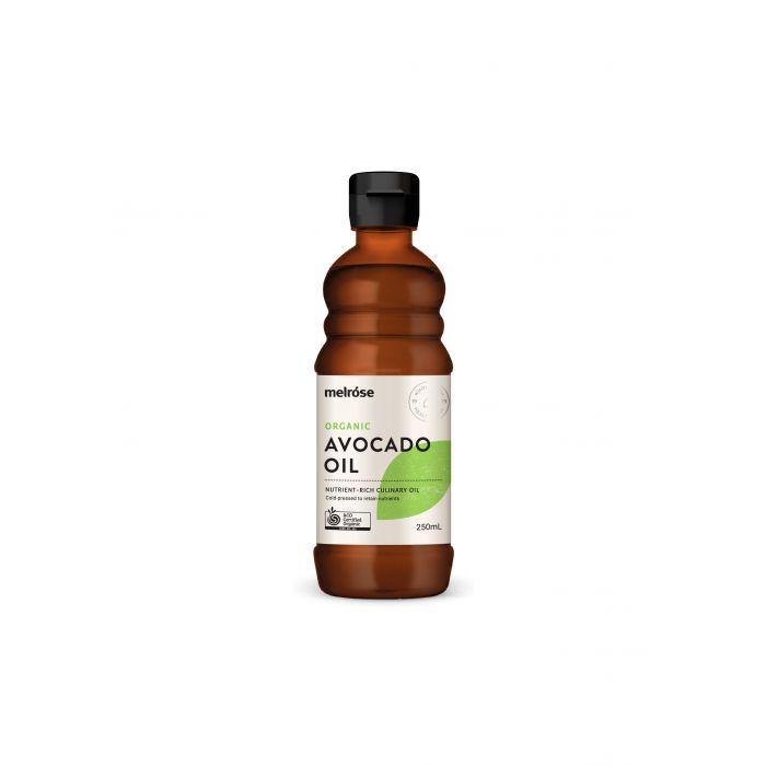 Melrose Organic Avocado Oil-Health Foods - Oils-MELROSE-250ML-Thrive Health and Nutrition