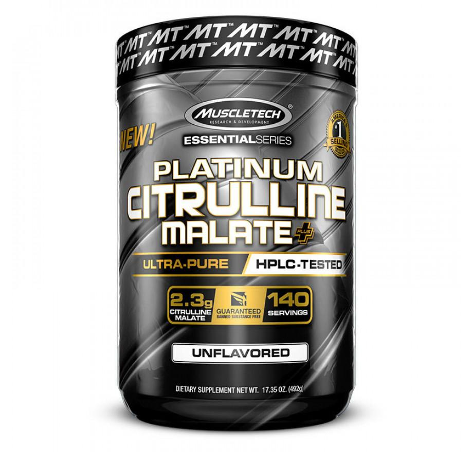 MT Platinum 100% Citrulline-Sports Nutrition - Amino Acid-MUSCLETECH-140 Serves-UNFALVOURED-Thrive Health and Nutrition