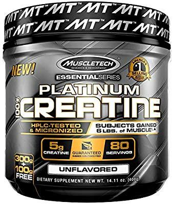 MT Platinum 100% Micronized Creatine