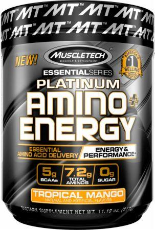 MT Platinum Amino Energy-Sports Nutrition - Amino Acid-MUSCLETECH-30 Serves-Tropical Mango-Thrive Health and Nutrition