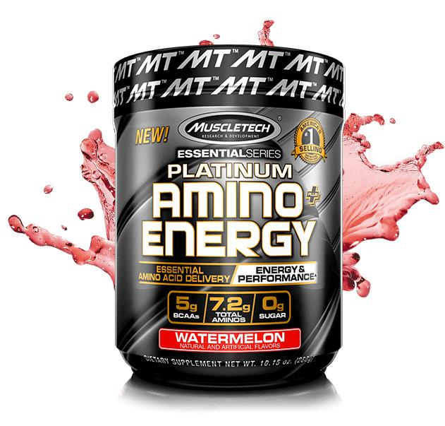 MT Platinum Amino Energy-Sports Nutrition - Amino Acid-MUSCLETECH-30 Serves-WATERMELON-Thrive Health and Nutrition