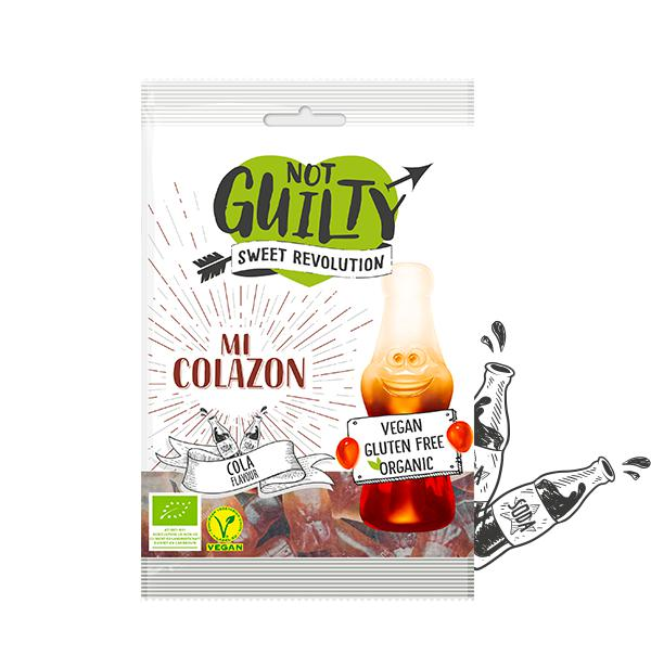 Not Guilty Organic Gummies Mi Colazon-Health Foods - Confectionery-Not Guilty Sweet Revolution-100G-Cola-Thrive Health and Nutrition