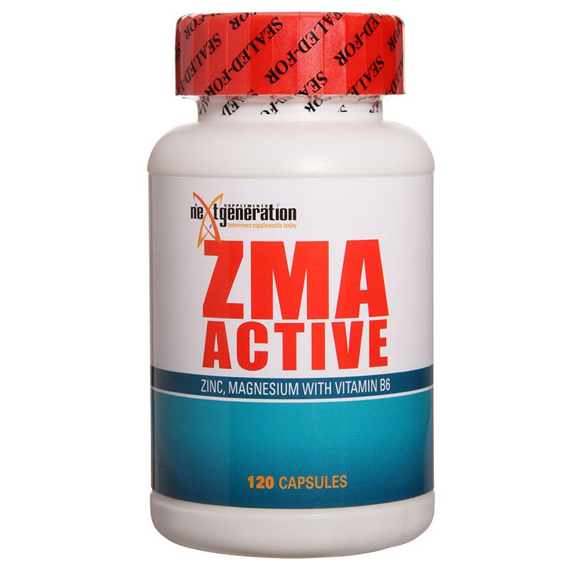 NXTGEN - ZMA Active-Vitamin and Minerals - Relaxation and Sleep-Next Generation-120C-Thrive Health and Nutrition