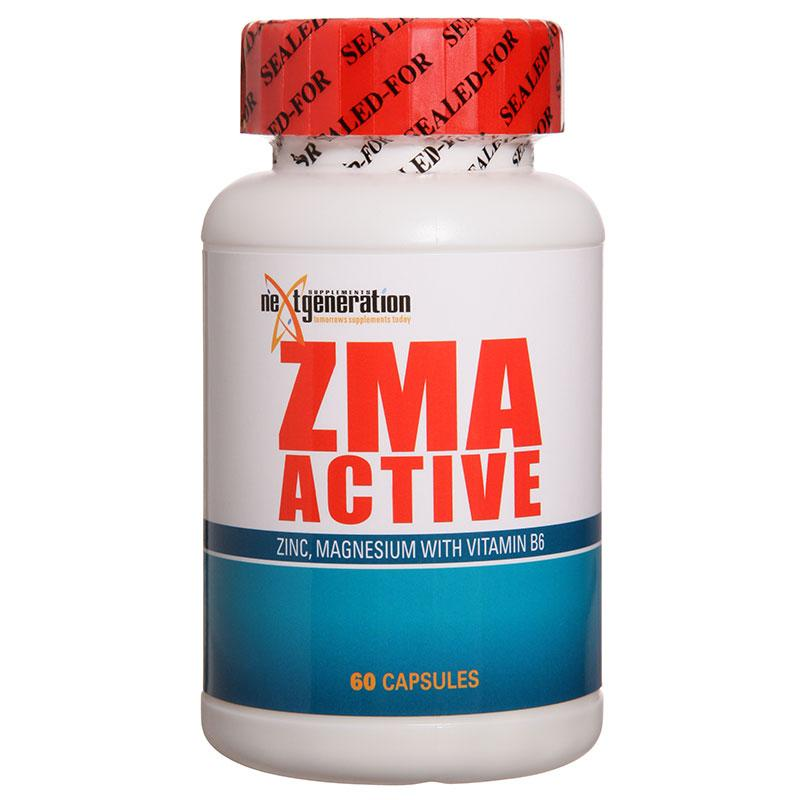 NXTGEN - ZMA Active-Vitamin and Minerals - Relaxation and Sleep-Next Generation-60C-Thrive Health and Nutrition