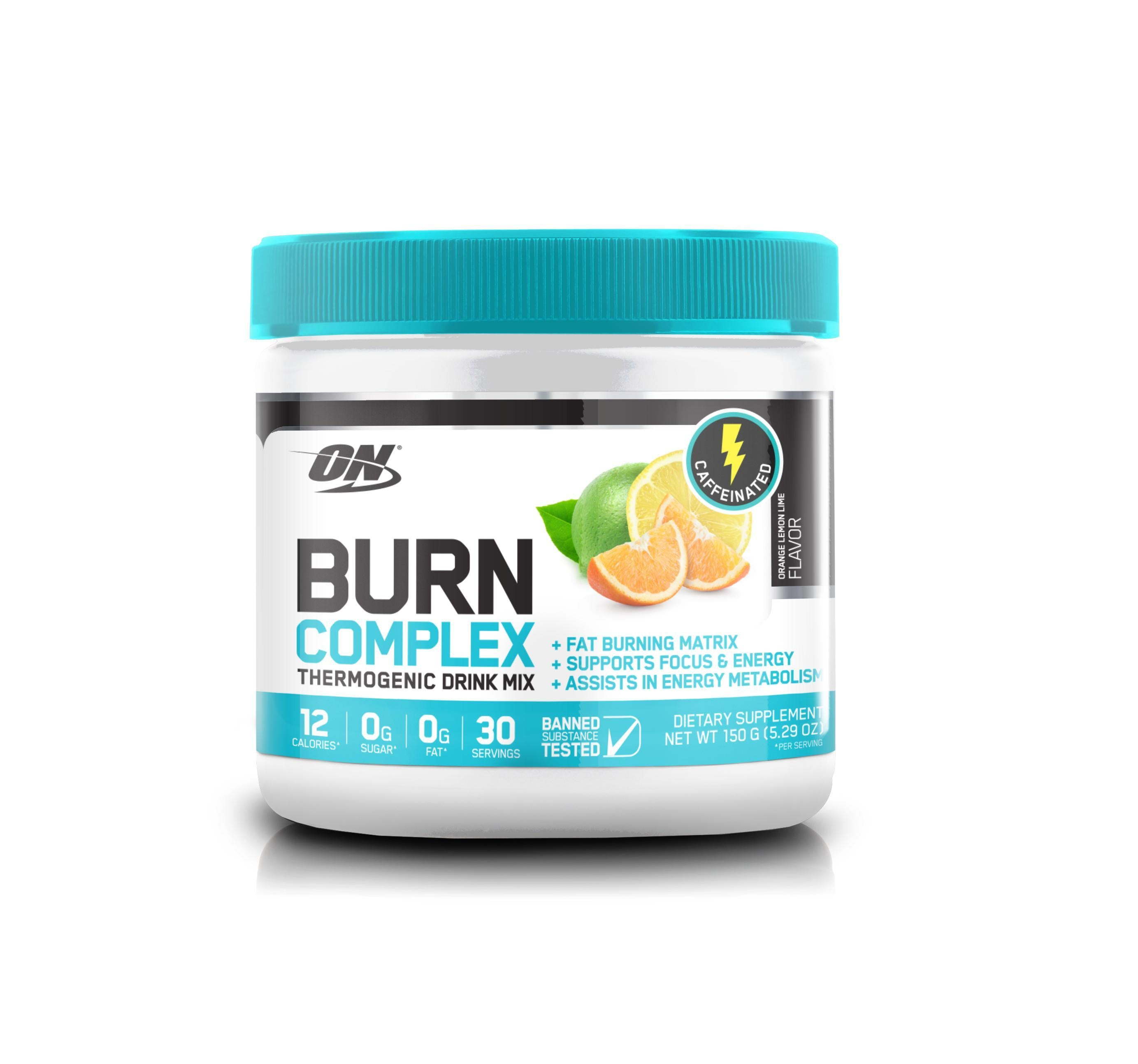 ON Burn Complex-Weight Loss - Fat Burners-Optimum Nutrition-30 Serves-LEMON LIME-Thrive Health and Nutrition