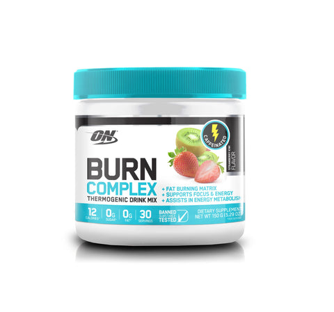 ON Burn Complex-Weight Loss - Fat Burners-Optimum Nutrition-30 Serves-STRAWBERRY KIWI-Thrive Health and Nutrition