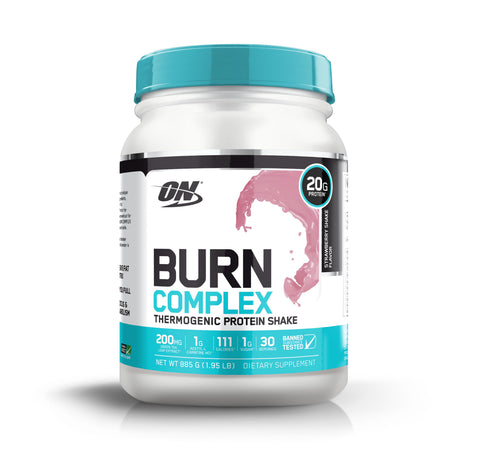 ON Burn Complex Protein-Protein - Weight Loss Protein-Optimum Nutrition-30 Serves-STRAWBERRY-Thrive Health and Nutrition
