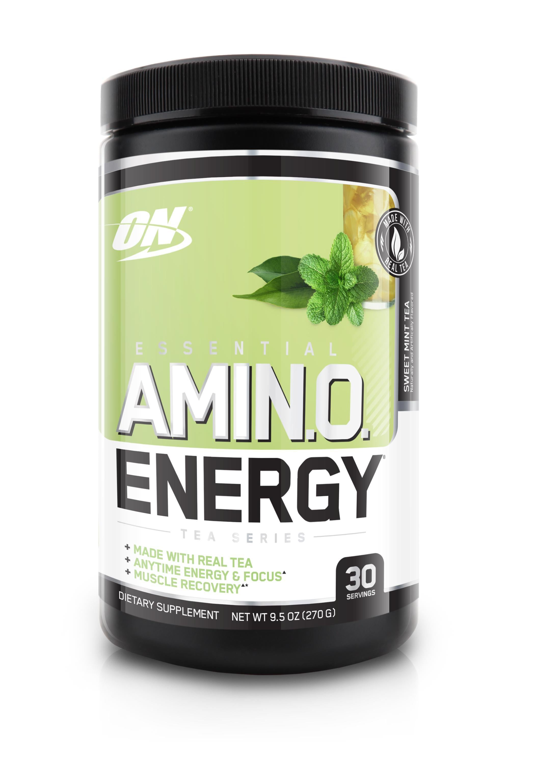 ON Essential Amino Energy Tea Series-Sports Nutrition - Amino Acid-Optimum Nutrition-30 Serves-Sweet Mint Tea-Thrive Health and Nutrition