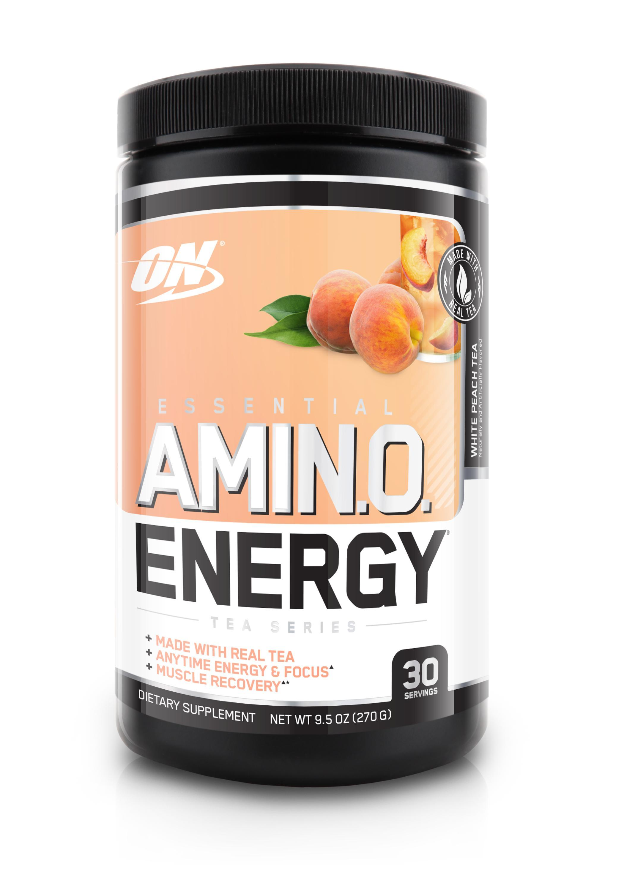 ON Essential Amino Energy Tea Series-Sports Nutrition - Amino Acid-Optimum Nutrition-30 Serves-White Peach Tea-Thrive Health and Nutrition