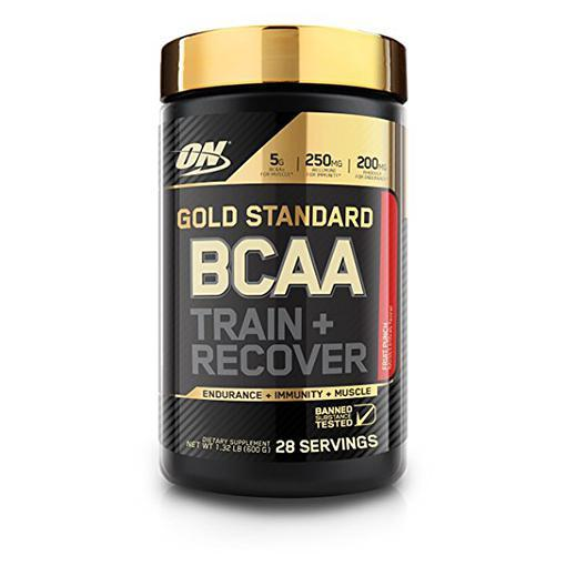 ON Gold Standard BCAA-Sports Nutrition - Amino Acid-Optimum Nutrition-28 Serves-FRUIT PUNCH-Thrive Health and Nutrition