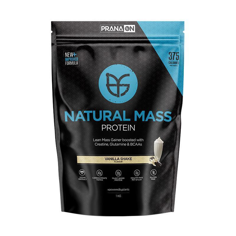 Prana On Natural Mass-Protein - Mass Gainer-PRANA ON-Thrive Health and Nutrition