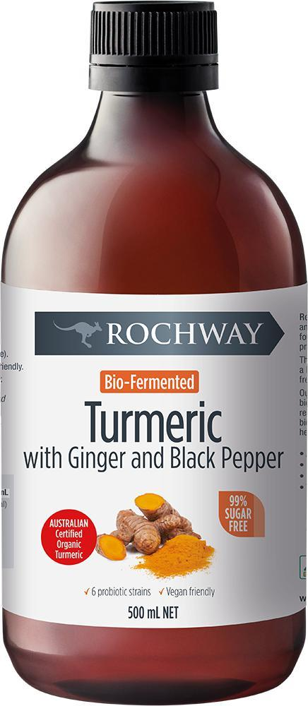 Rochway Turmeric-Vitamin and Minerals - Joint And Bone Health-Rochway-500ML-Thrive Health and Nutrition