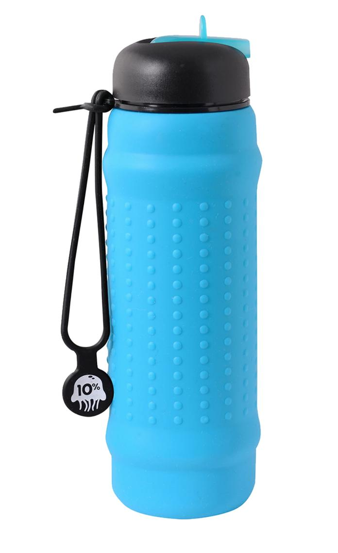 Rolla Bottle-Accessories - Shakers And Reusable Containers-Rolla Bottle-700ml-Aqua/ Black/ Black-Thrive Health and Nutrition