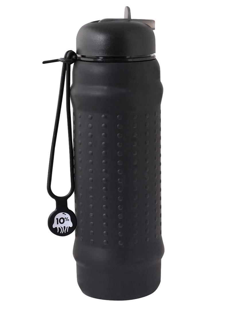 Rolla Bottle-Accessories - Shakers And Reusable Containers-Rolla Bottle-700ml-Black/ Black/ Black-Thrive Health and Nutrition