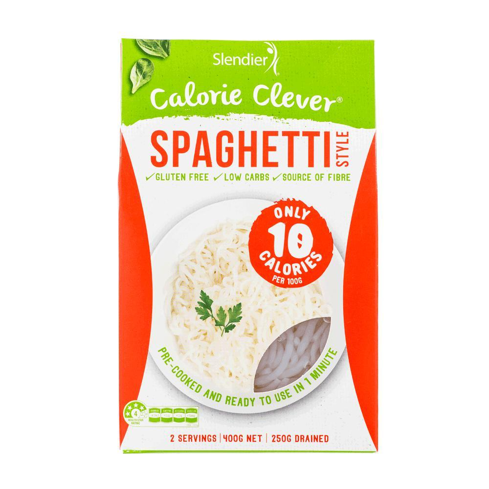 Slendierslim Pasta-Health Foods - Pantry-Slendierslim-400G-Spaghetti-Thrive Health and Nutrition
