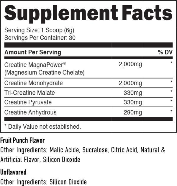 Staunch Creatine Five-Sports Nutrition - Creatine-Staunch Nutrition-50 Serves-Thrive Health and Nutrition