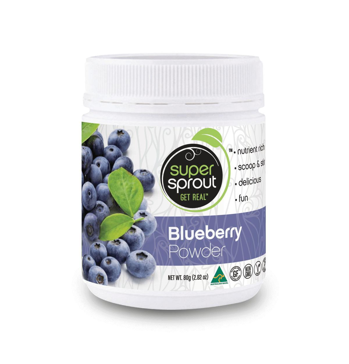 Super Sprout Super Foods Blueberry-Health Foods - Super Foods-SUPER SPROUT-80GM-Thrive Health and Nutrition