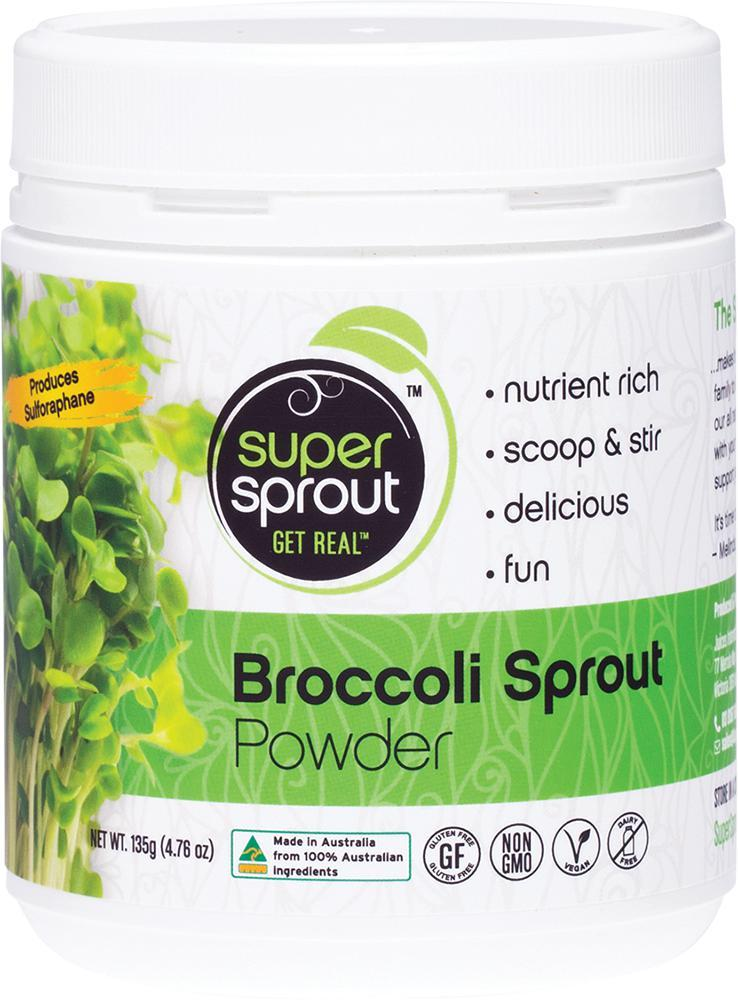Super Sprout Super Foods Broccoli-Health Foods - Super Foods-SUPER SPROUT-135GM-Thrive Health and Nutrition
