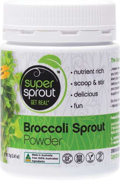 Super Sprout Super Foods Broccoli-Health Foods - Super Foods-SUPER SPROUT-75GM-Thrive Health and Nutrition