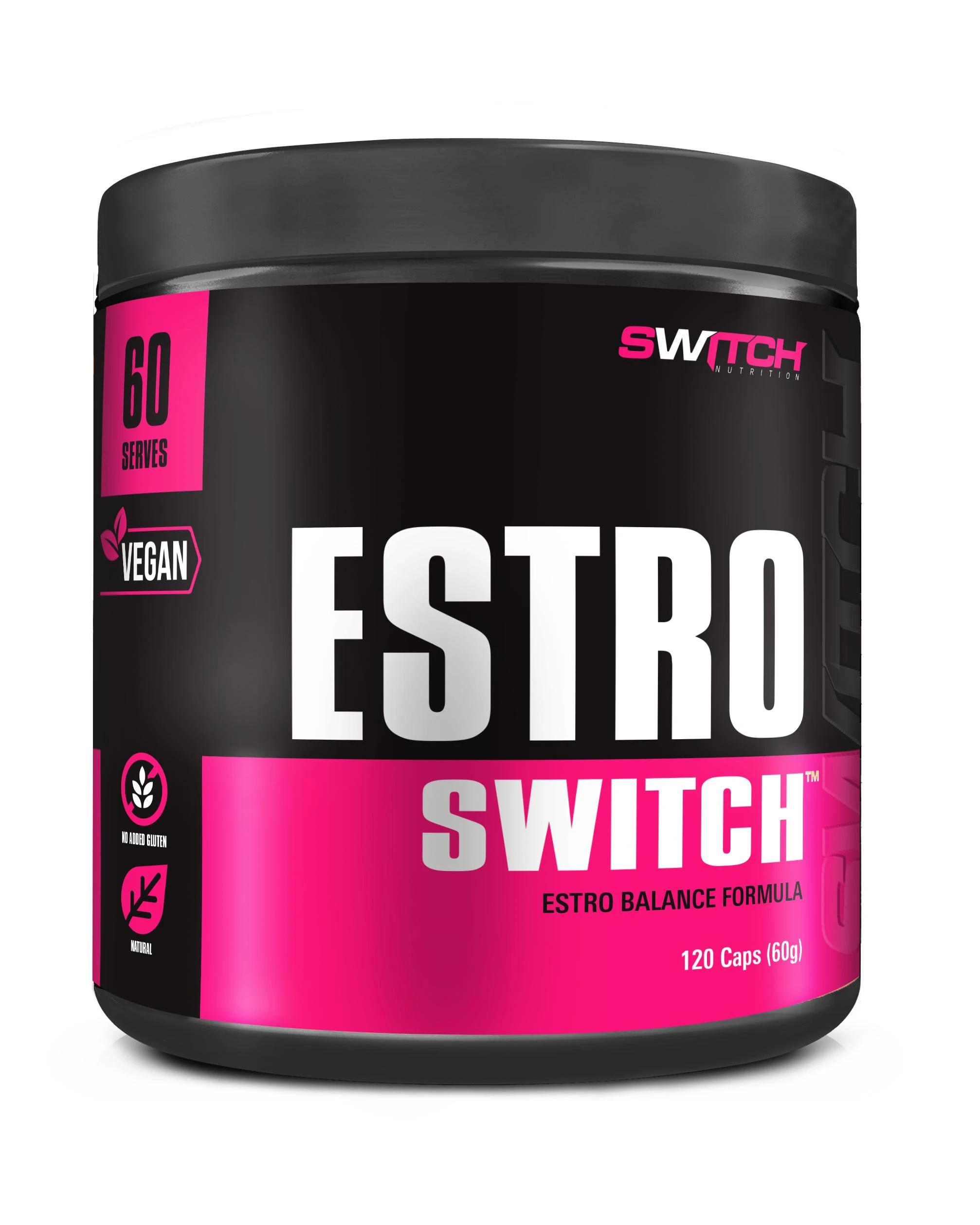 Switch Nutrition Estro Switch-Vitamin and Minerals - Womens Health-Switch Nutrition-120 CAPSULES-Thrive Health and Nutrition