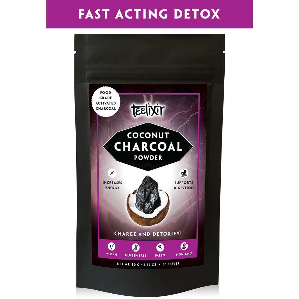 Teelixir Coconut Charcoal-Vitamin and Minerals - General Health-Teelixir-80G-Thrive Health and Nutrition