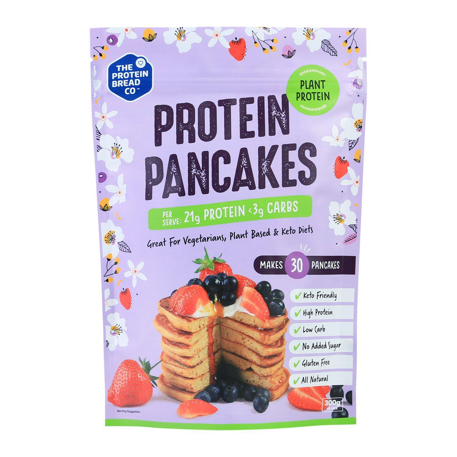 TPBC Protein Pancake Plant Mix-Health Foods - Pantry-THE PROTEIN BREAD CO-300G-Thrive Health and Nutrition