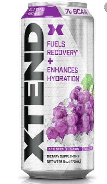 XTend RTD-Health Foods - Drinks-SCIVATION-473ML-Glacial Grape-Thrive Health and Nutrition