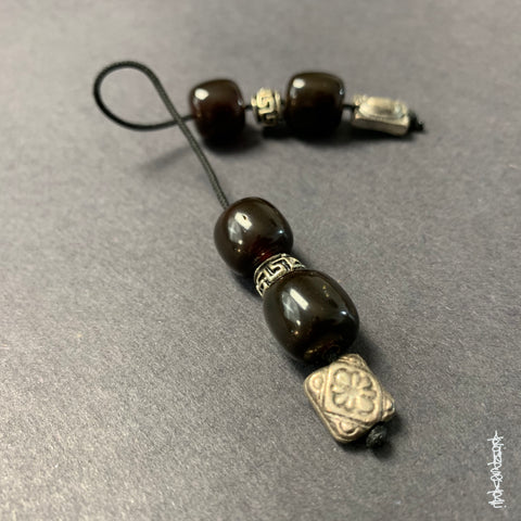 Traditional Greek Begleri in Amber