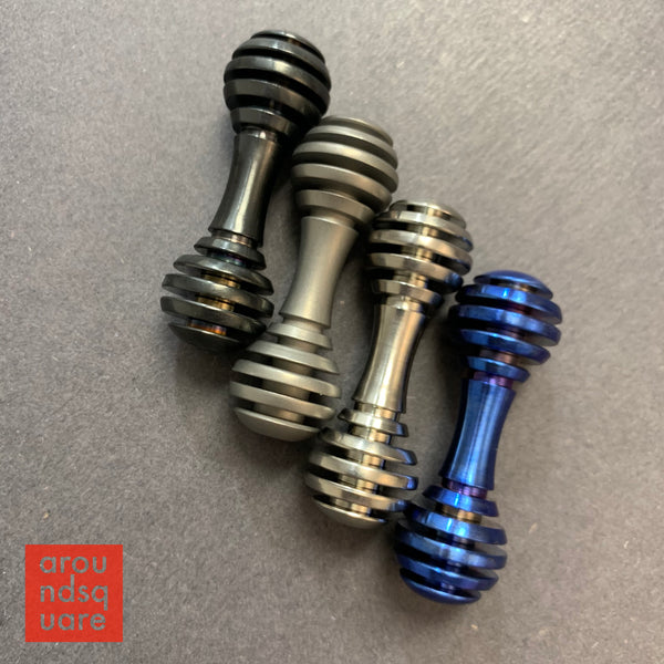 Knucklebone Smalls - Titanium Honeybone