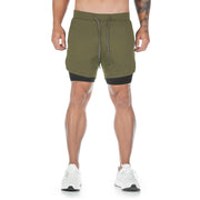 HF HIDDEN POCKETS SHORTS - OLIVE