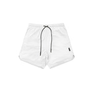 HF HIDDEN POCKETS SHORTS - WHITE