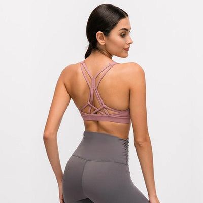 HUSTLE FOCUS SEAMLESS SPORTS BRA