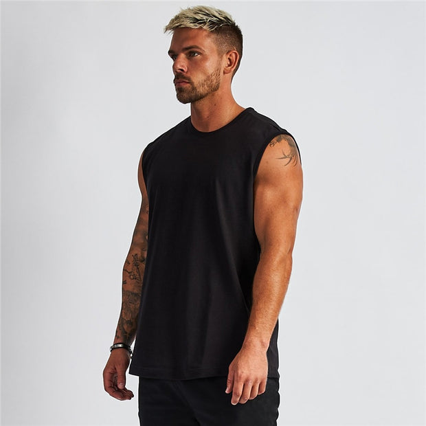MEN'S HUSTLE SLEEVELESS T-SHIRT