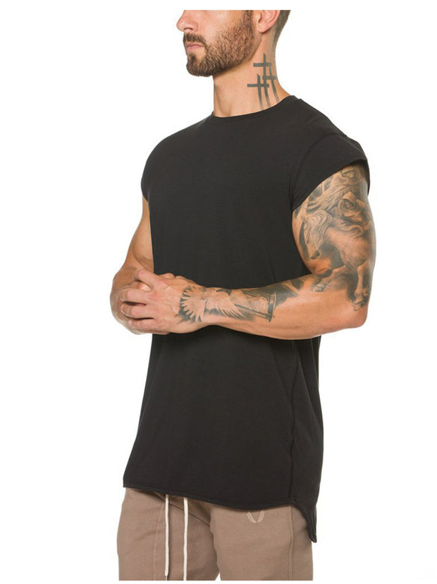 CottonPlus™ Mesh Back Drop Shoulder