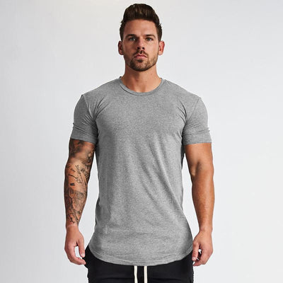 HUSTLE T-SHIRT GREY