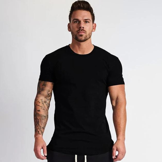 HUSTLE T-SHIRT BLACK