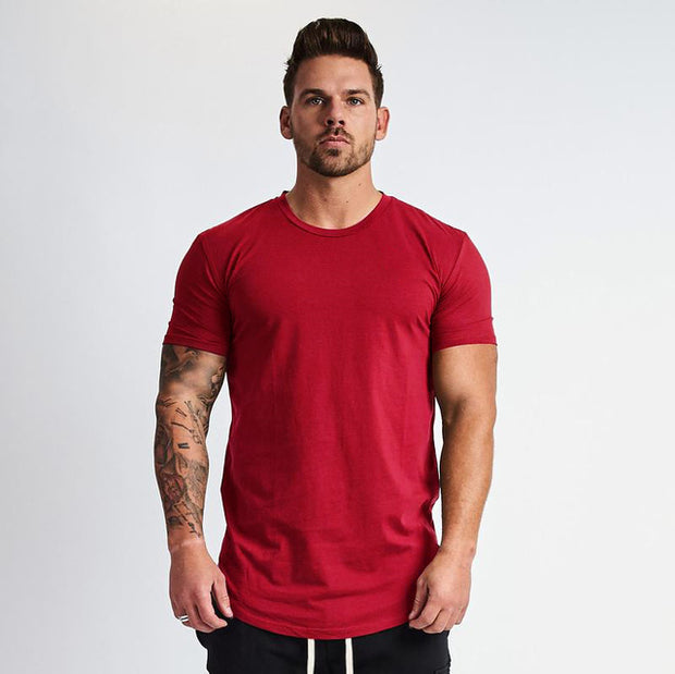 HUSTLE T-SHIRT RED